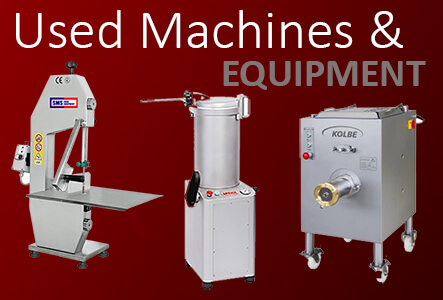Used Machines and Equipment